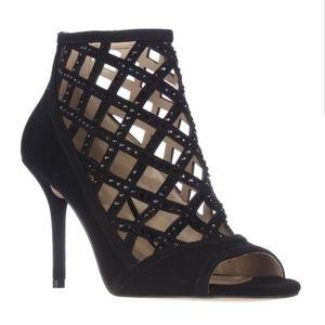 Michael Kors gladiator caged sandals heel booties